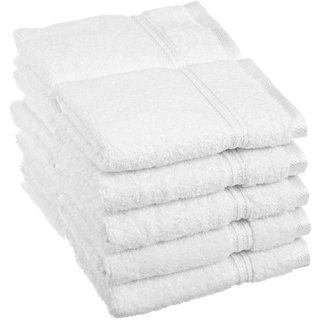 iLiv Set Of 10 White Face Towel