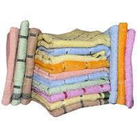 iLiv 100 cotton Face towels( Set of 10 )