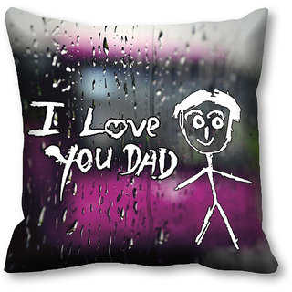 Father Gift-meSleep Love Dad Cushion Covers