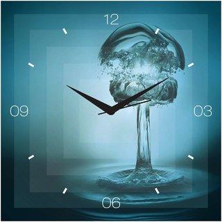 Creative Width Droplet Wall Clock