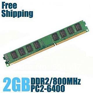 Hynix DDR2 2GB 800Mhz RAM For Desktop 1y warranty