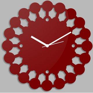Creative Width Chakras  Red Wall Clock