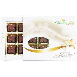 Ghasitarams Designer Chocolate 12 pcs White Box