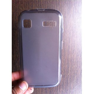 low priced 940e8 16345 Soft Jelly Silicon Silicone Skin Case Back Cover Pouch For Micromax Bolt  A35 A-35 A 35