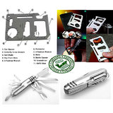 11 In 1 Stainless Multifunction Emergency Tool Multifunctional Army Knife &Cre