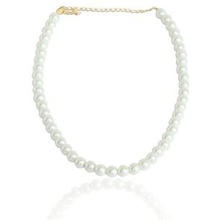Meia Silver Alloy Non Plated Necklace Set For Women