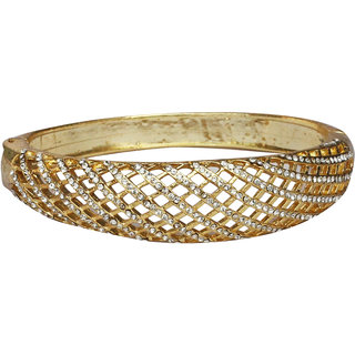Touchstone AD Trendy Silver Bracelet