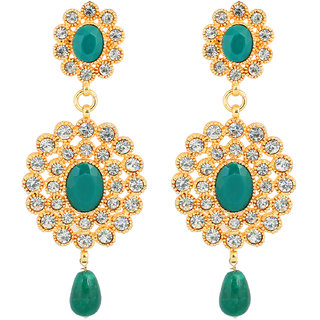 Touchstone Dazzling Bridal Hanging Earrings (PWETL169-01AE-Y)