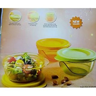 Tupperware Containers Style Diva Bowls- 450ml - 1 PCS STACKABLE+FOODGRADE+FRIDGE