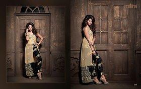 indian women wear ethnic semi stitched dress material salwar suit anarkali suit