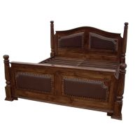Indian Hub King Size Bed