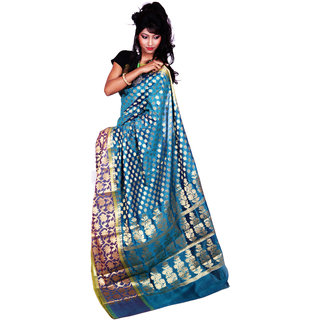 Peacock With Multi Color Art Silk Saree