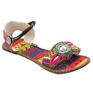 Forever Living Women's Multicolor Mojari