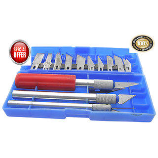 DIY ART CUTTER TOOL 16PC HOBBY CRAFT KNIFE SET