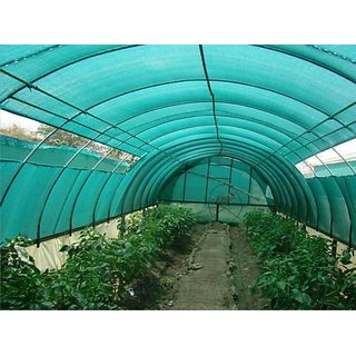 (Size: 4 x 10 m) Green Shade Net 50% (4m Wide Roll) Greenhouse UV Stablilized