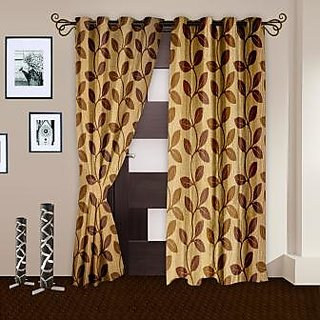 Story@Home Cream Door Curtain Nature set of 2-DNR2002