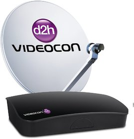 Videocon d2h SD Set Top Box with 6 Mth Subscripton of New South Gold Pack