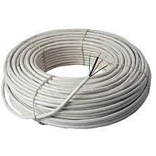 CCTV Wires and Cables 3+1 Core Alloy 90 MTRS (100 YARDS)