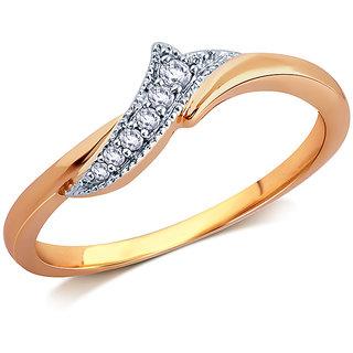 Jewel Pride 18 Karat Gold Ring set with Diamonds