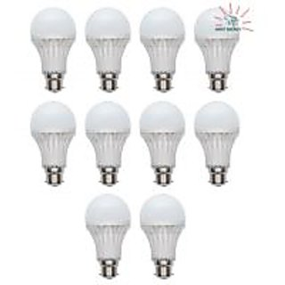 12 WATT LED BULB ENERGY SAVER - (SET OF 10 PCS)+ 1 PC FREE