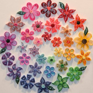 Paper Quilling Kit With Booklet
