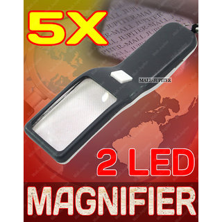 5X LED UV Money Currency Checker Magnifier Magnifying Glass Microscope -33