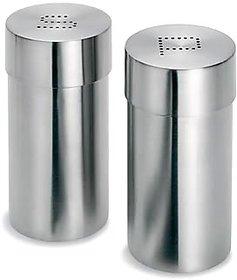 STAINLESS STEEL Cino Salt  Pepper shakers 100 Money Back Guarantee
