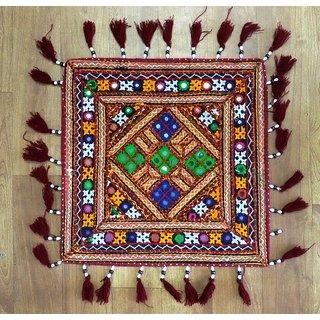 Kutchi Handmade Embroidered Cushion Cover