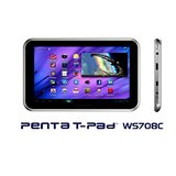 BSNL Penta WS708C  7 Inch Display, 4  GB, Wi Fi + 2G Calling, Black