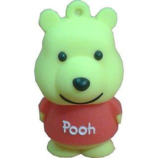 Microware Pooh New Shape 16 Gb Fancy Pendrive