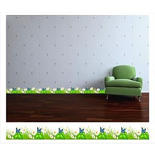Posterindya Wall Grass Sticker piw8007