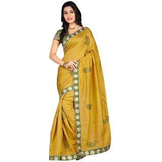 Madhuri Dixit Olive Green Saree