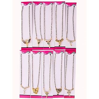 Yash Enterprise Gold Plated Gold Brass & Copper With chain For Women