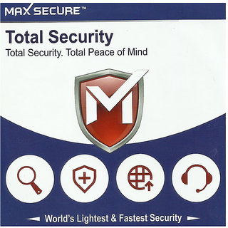 Max Secure Total Security 1 User 1 Year validity & free 4 months  extra