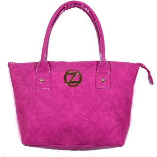 Osaiz Modern Hand-held Bag(Pink)