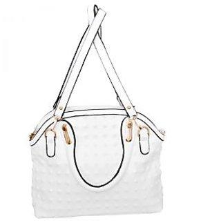 BOLSA white color Hand bag
