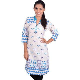 Anuradha Casual 3/4 Sleeve Printed Women's Kurti