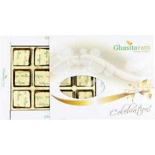 Ghasitaram Sugarfree Assorted Chocolates 12 pcs White Box
