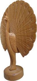 Bagru Craft  Handicrafts wooden dancing peacock