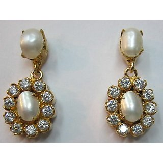 real pearl earring in stunning lowest price