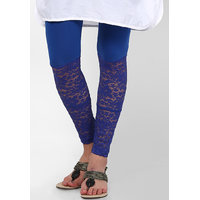 Trendy Net Legging - Blue