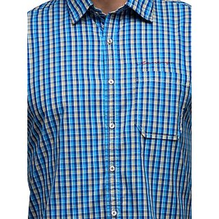 Men's Blue Casual Shirt