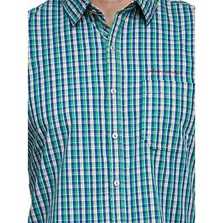 Men's Green Casual Shirt