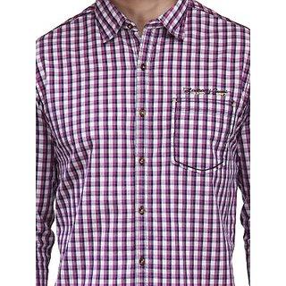 Men's Purple Casual Shirt