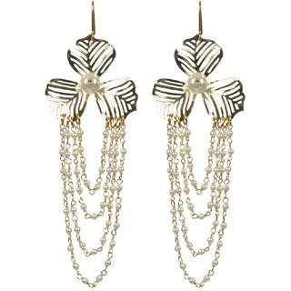 Envy Gold Plated Gold Chandelier Earring
