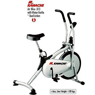 KAMACHI BRANDED AIR BIKE- 313 With Water Bottle * Dual Action