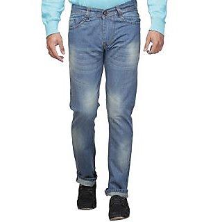 New Design Blue Regular Fit  Jeans