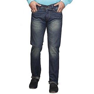 Nice Blue Regular Fit  Jeans
