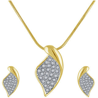 Shriya Austrian Beautiful Diamond Chain Pendant Set For Women