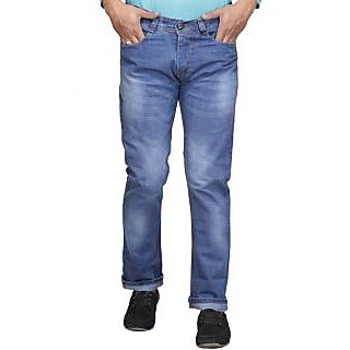 New Design Denim Blue Regular Fit  Jeans (JK-JEN-25)